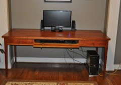 Cherry Desk with Pull out Keyboard