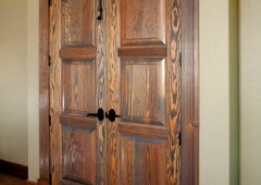 Wire Brushed Fir Doors