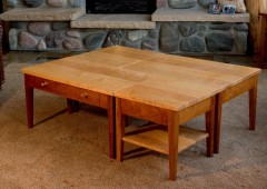 Bird's Eye Maple Puzzle Table