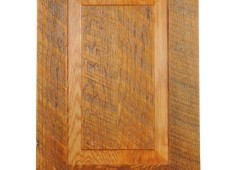 Raised Panel Knotty Alder