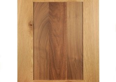White Oak Door, Walnut Panel
