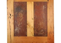 Rusted Steel in Reclaimed Chestnut