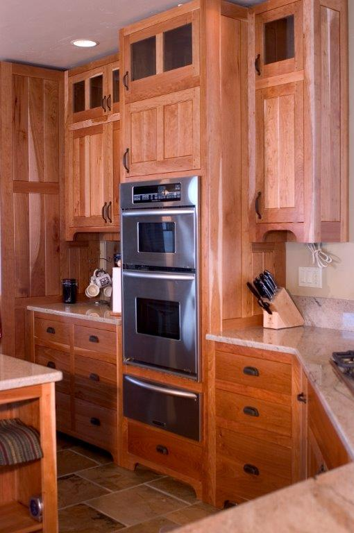 Cherry Shaker Style Custom Kitchen Cabinetry T Scholl Fine Woodworks