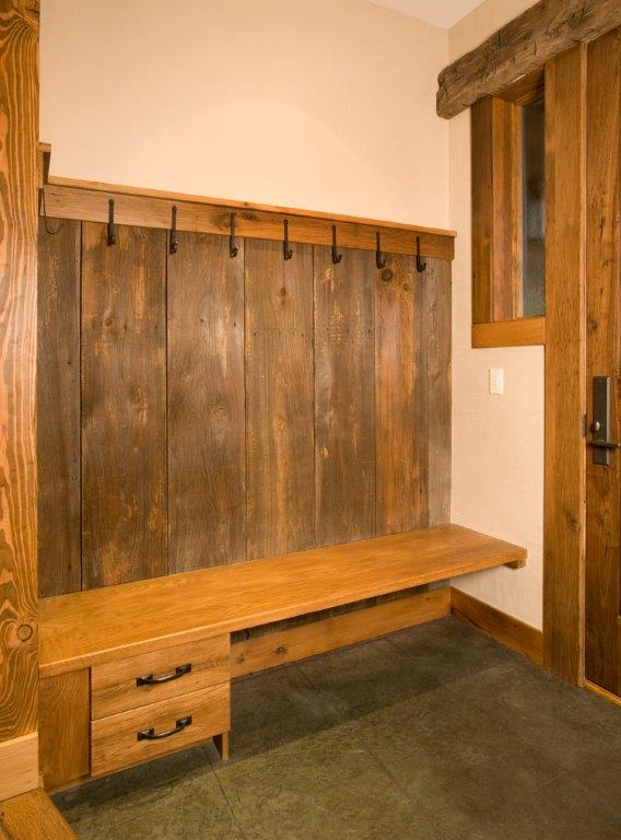 Foyer Built In Cabinets : Oak and walnut build in furniture co t scholl fine