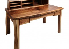 Live Edge Walnut Writing Desk