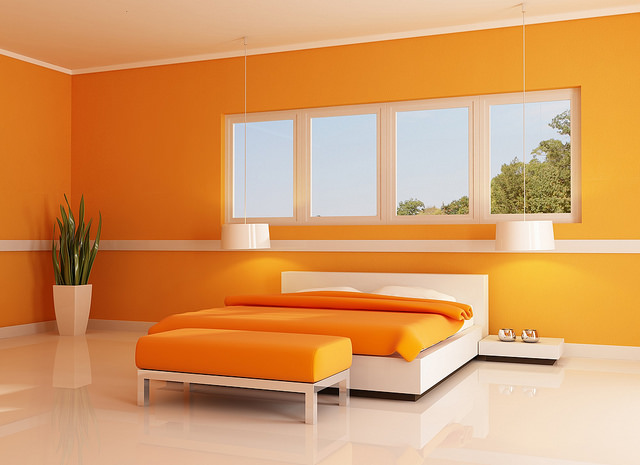 Modern Styles Focus On Clean Lines, Geometric Shapes And Bright Colors