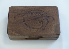 American Black Walnut Fly Box
