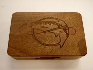 Walnut Fly Box