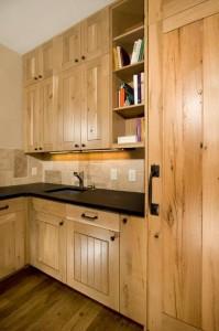 White Oak Built-Ins