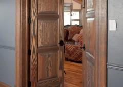 Wire Brushed Fir Doors