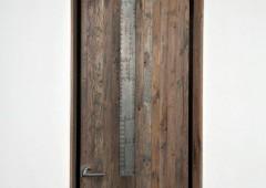 Rustic White Oak Door
