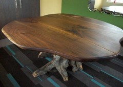 Live Edge Walnut Dining Table