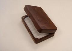American Black Walnut Fly Box
